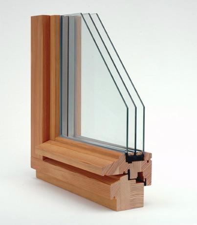 Driedubbel glas
