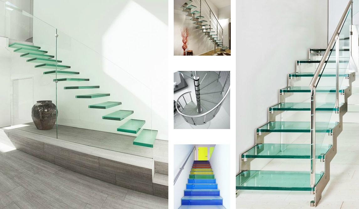 glazen vloeren glazen trappen
