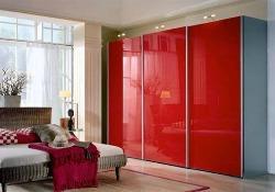Lacobel rood glas