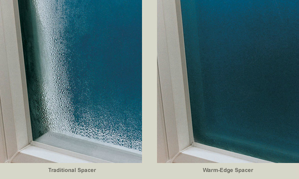 Warm edge glas for Low energy windows